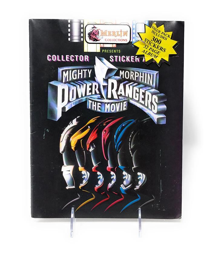 Mighty Morphin Power Rangers (1995) The Movie Sticker Book by Merlin Collections