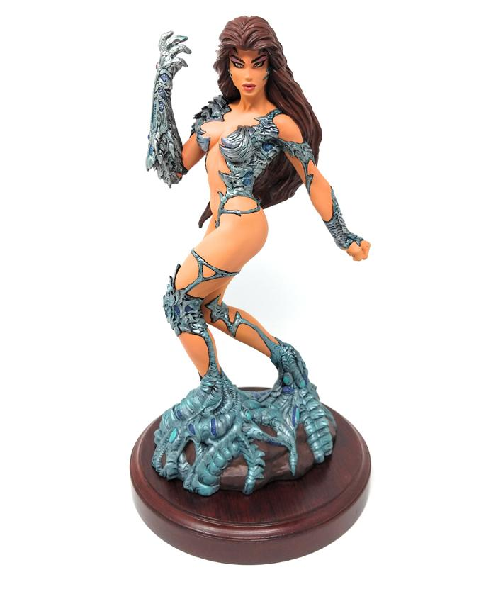 "Witchblade (1997) Signed, Limited Edition 12"" Statue #3450 of 5000 by Moore Creations"