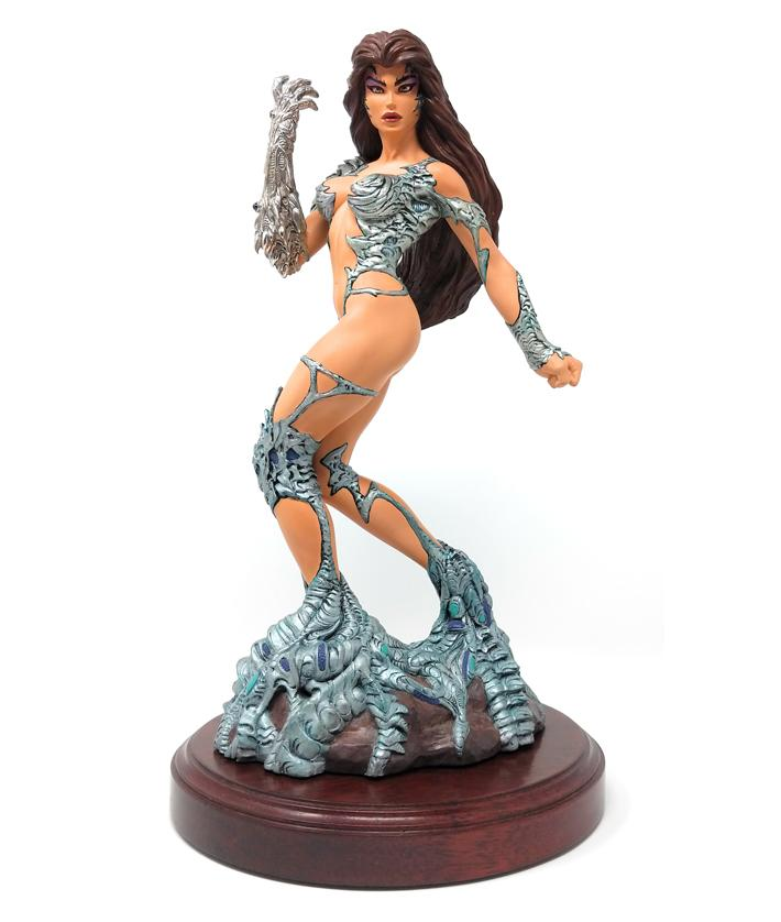 Witchblade (1997) Signed Sterling Edition Statue #16 of 300 with CoA