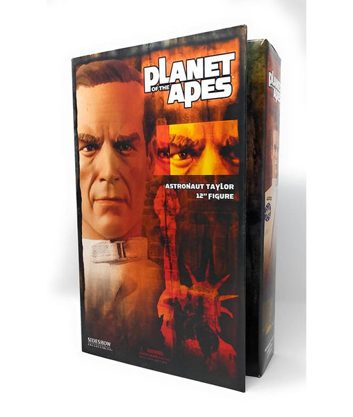 "Astronaut Taylor, Planet of the Apes 12"" Action Figure by Sideshow Collectibles (2004) - Mint in Box"