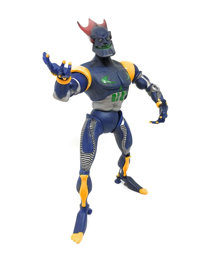 "ReBoot (1995) 10"" Megabyte Villain Action Figure by Irwin - Loose / Incomplete"