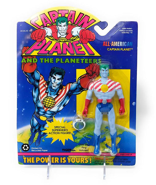 Captain Planet (1991) All American Captain Planet Action Figure - Mint In Package