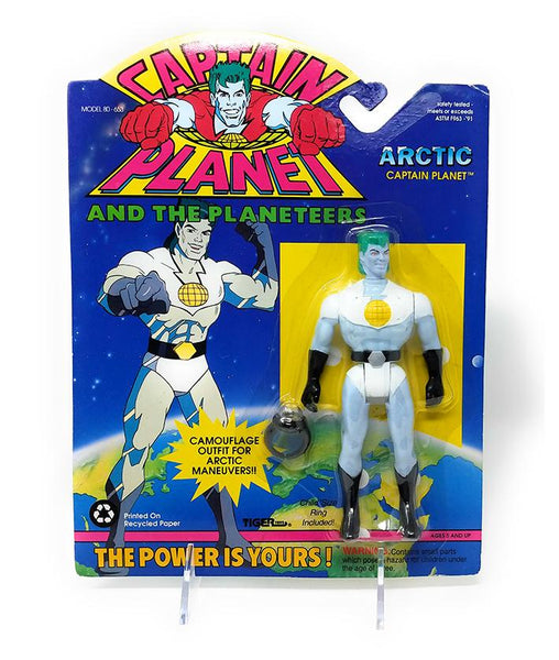 Captain Planet (1991) Arctic Captain Planet Action Figure - Mint In Package