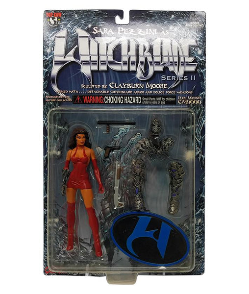 Witchblade (1999) Series 2 Sara Pezzini Action Figure with Red Dress