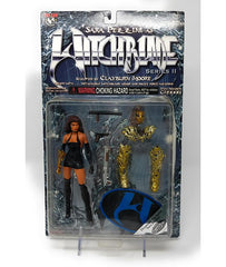 Witchblade (1999) Series 2 Diamond Exclusive Sara Pezzini Action Figure with Black Dress