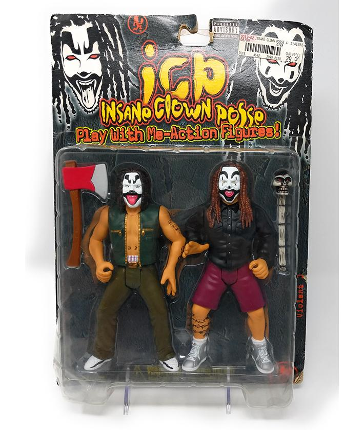 Insane Clown Posse (1999) Play With Me Action Figures, Dual Pack