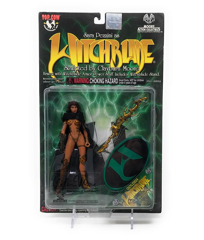 Golden Witchblade (1998) Series 1 Action Figure, CM8014