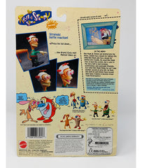 Ren & Stimpy (1993) Army Ren Hoek Action Figure with Bug Eyed Action