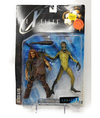 The X-Files (1998) Series 1 Action Figure, Attack Alien with Caveman