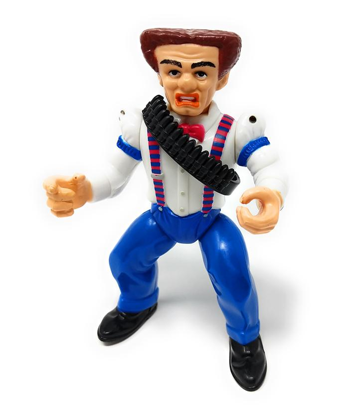 Dick Tracy (1990) Playmates Flattop Jones Action Figure - Loose / Incomplete