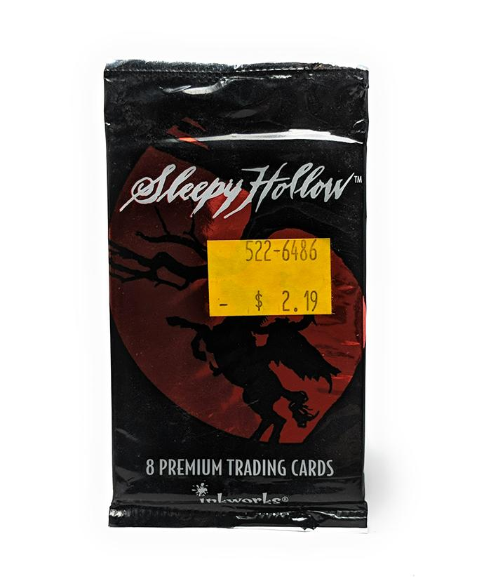 Sleepy Hollow (1999) The Movie Trading Cards, Single Pack