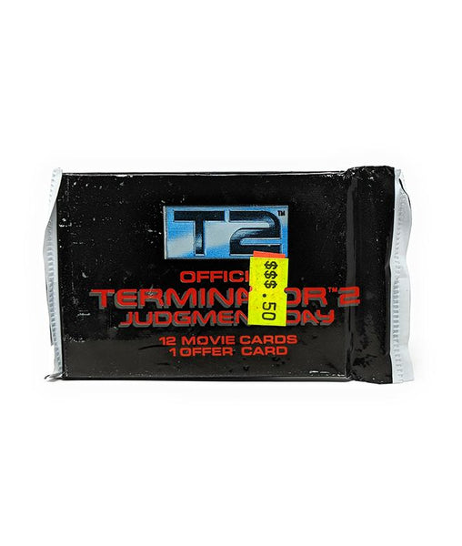 T2 Terminator 2 (1991) Judgement Day Trading Cards, Single Pack