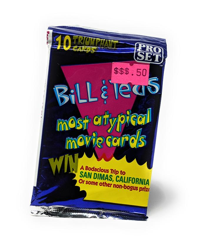 Bill & Ted's Most Atypical Movie (1991) Pro Set Trading Cards, Single Pack