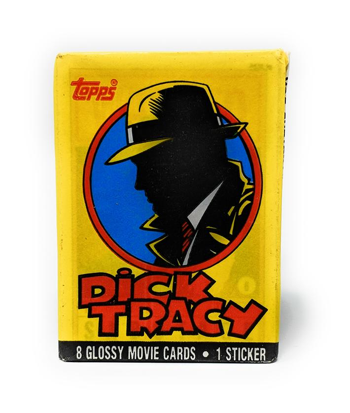 Dick Tracy (1990) Movie Wax Pack Trading Cards, Single Pack
