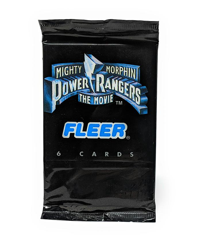 Mighty Morphin Power Rangers The Movie (1995) Fleer Trading Cards, Single Pack