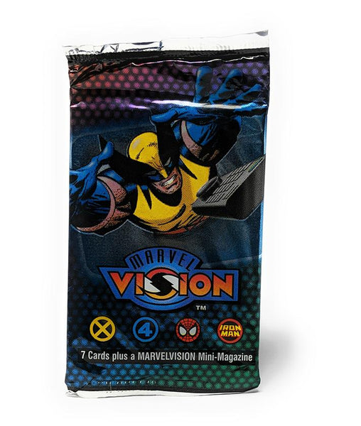 Marvel Vision (1996) Trading Cards and Mini Magazine, Single Pack
