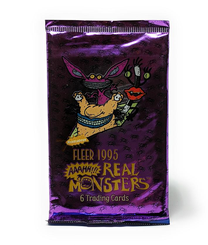 AAAHH!!! Real Monsters (1995) Trading Cards, Single Pack