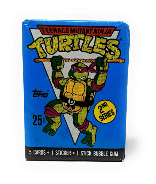 Teenage Mutant Ninja Turtles (1990) 2nd Series Wax Pack Trading Cards, Single Pack