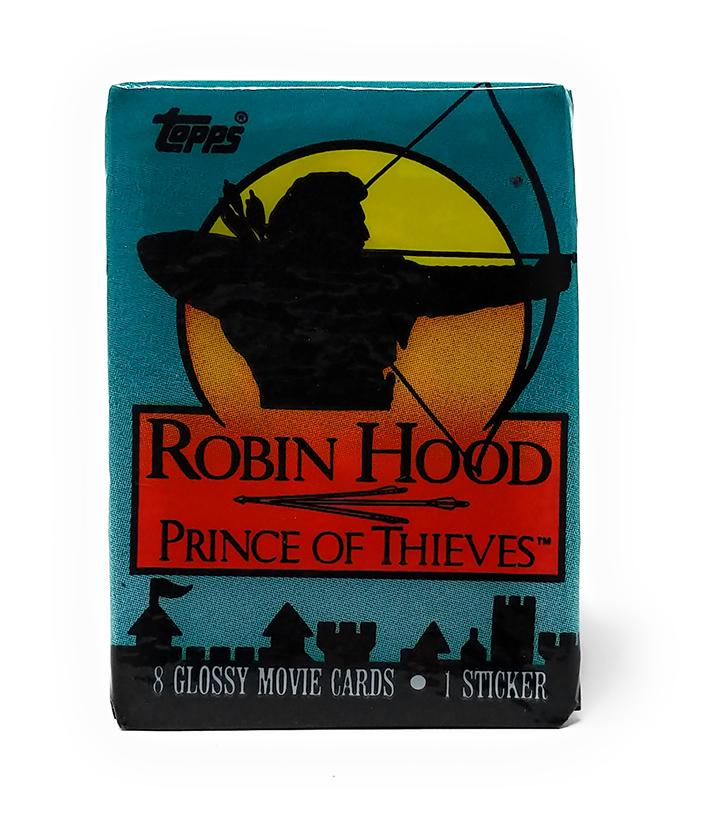 Robinhood Prince of Thieves (1991) Topps Trading Cards, Single Pack