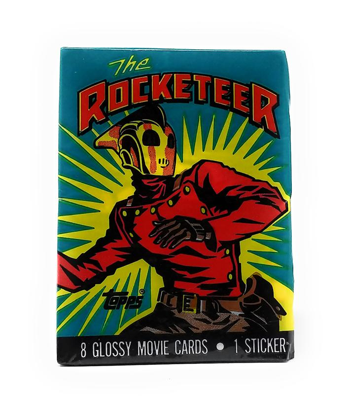 The Rocketeer (1991) Topps Trading Cards, Single Pack