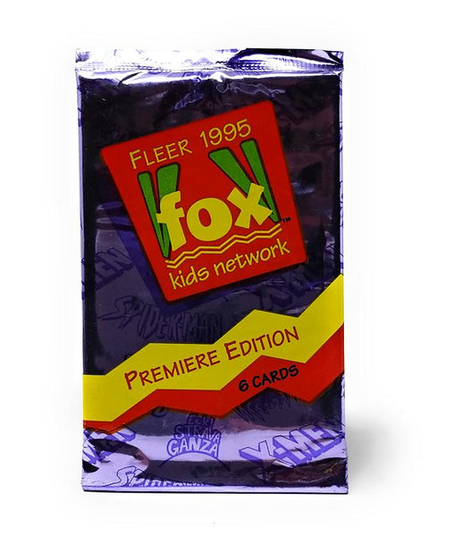 Fox Kids (1995) Premiere Edition Trading Cards, Single Pack