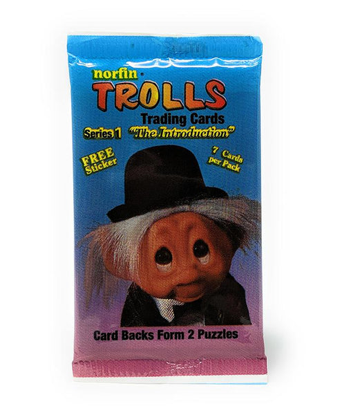Trolls (1993) Series 1 Trading Cards by Norfin / Collect-A-Card, Single Pack