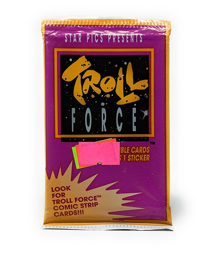 Troll Force (1992) Trading Cards by Star Pics, Single Pack