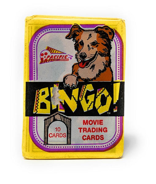 Bingo the Dog Movie Wax Pack Trading Cards, Single Pack