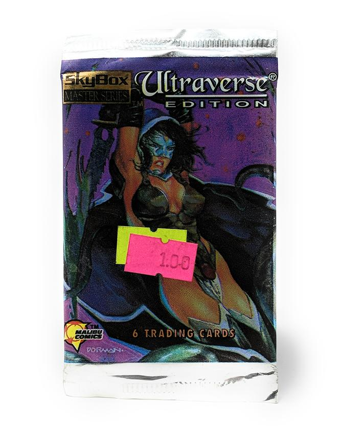 Skybox Master Series (1994) Ultraverse Edition Trading Cards, Single Pack