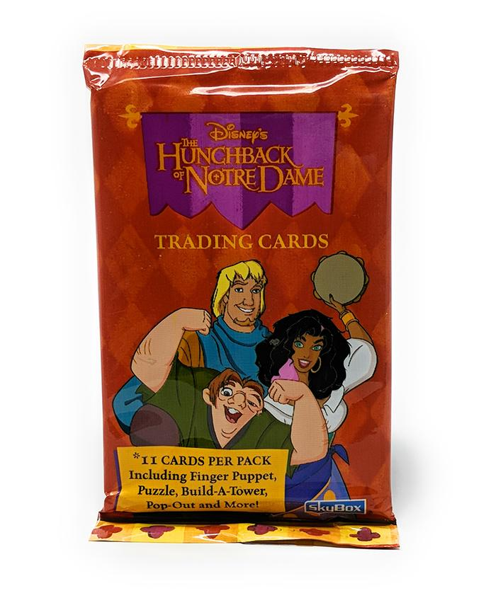 Hunchback of Notre Dame (1997) Skybox Trading Cards, Single Pack