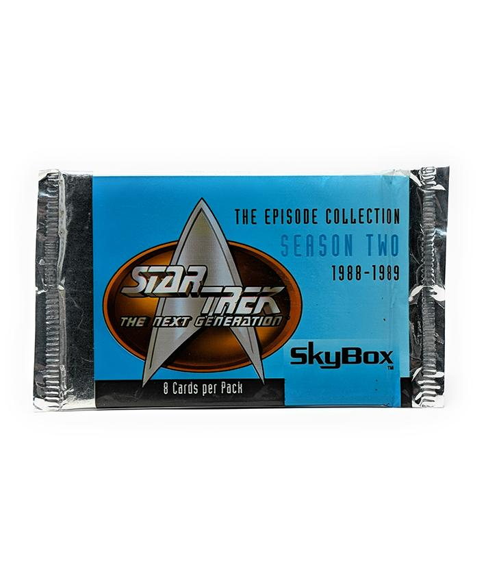 Star Trek The Next Generation Season 2 (1988-89) Episode Trading Cards, Single Pack