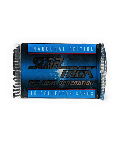 Star Trek The Next Generation (1992) Inaugural Edition Trading Cards, Single Pack