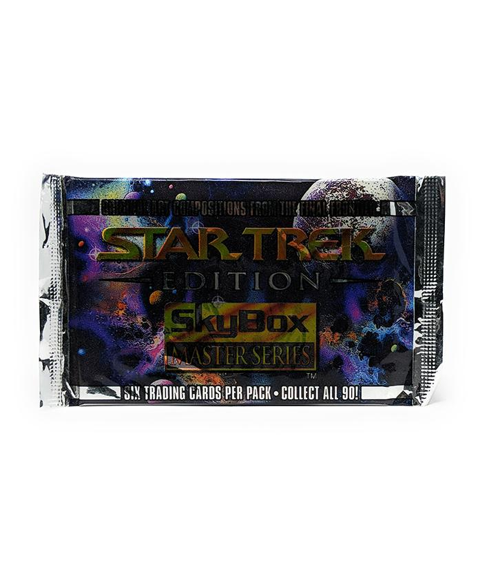 Skybox Master Series (1993) Star Trek Edition Trading Cards, Single Pack