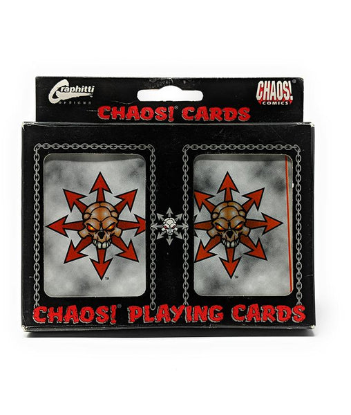 Chaos! (1996) Dual Poker Deck Playing Cards