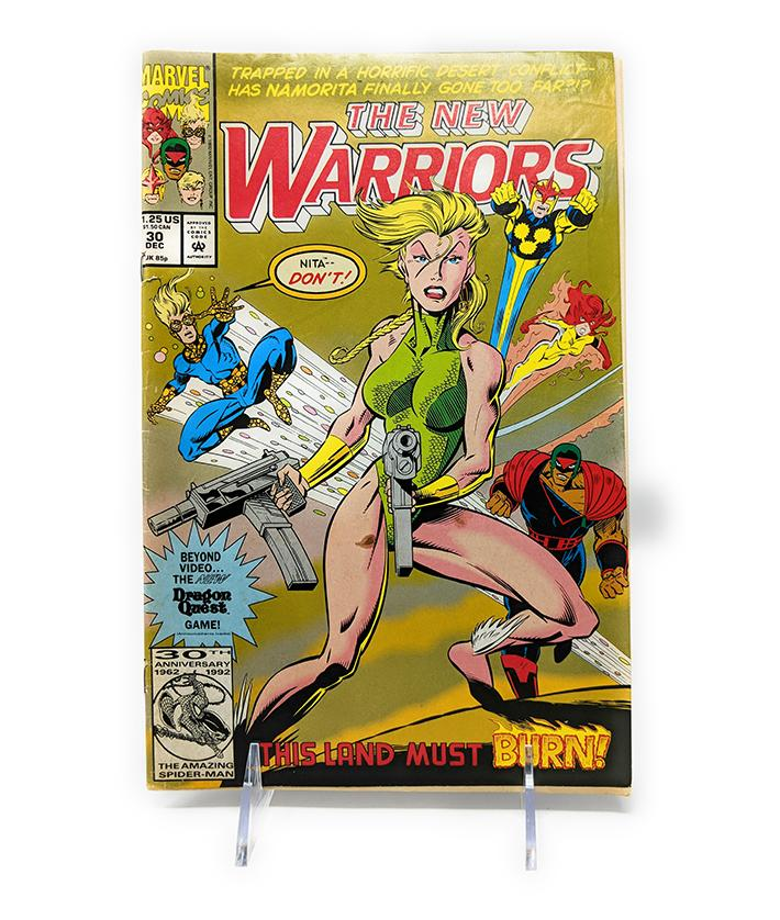 The New Warriors #30 (December 1992) Marvel Comics
