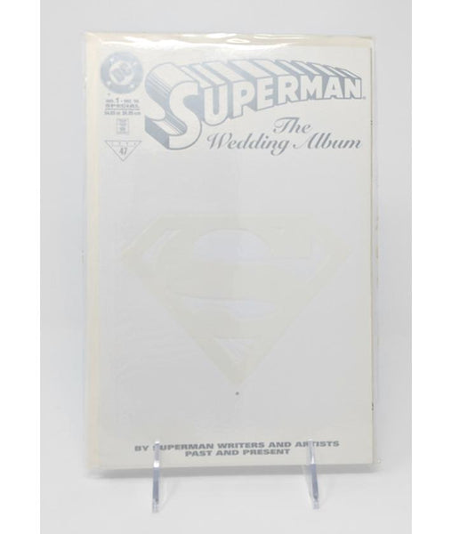 Superman: The Wedding Album #1 (December 1996) DC Comics, White Cover Variant