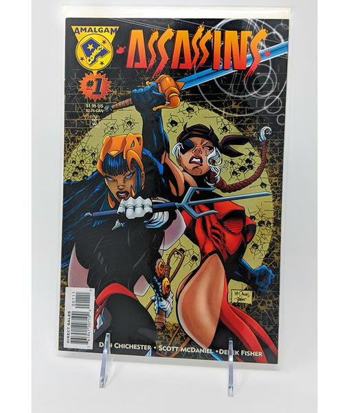 Assassins #1 (1996) Amalgam Comics DC/Marvel - Direct Sales Edition