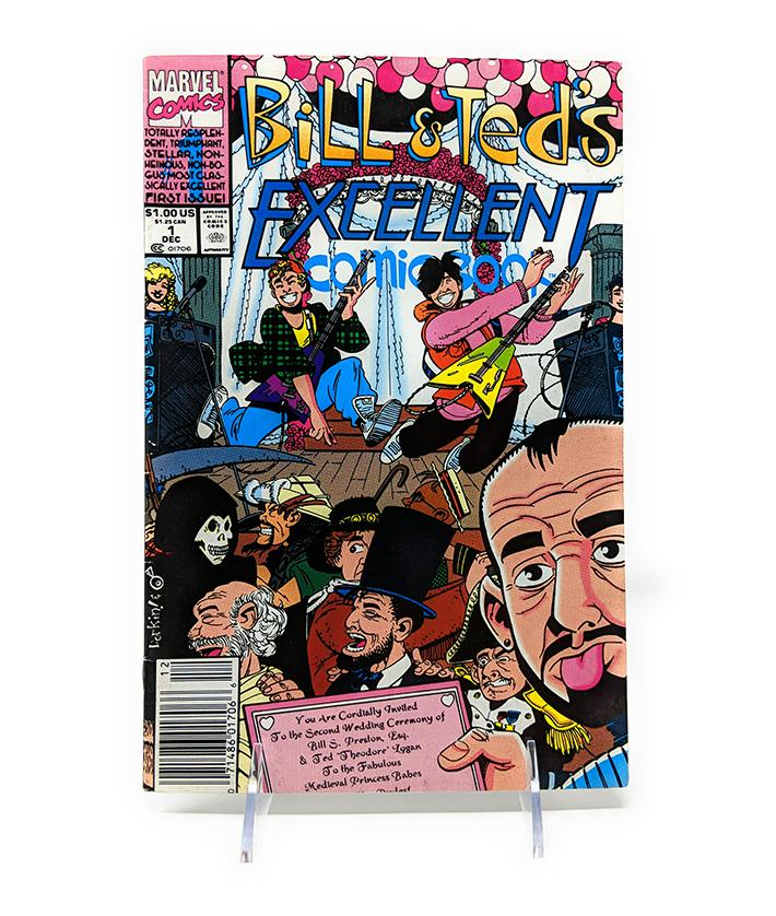 Bill & Ted's Excellent Comic Book #1 (December 1991) Marvel Comics