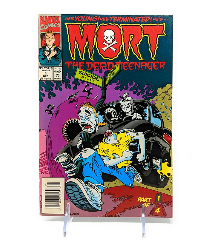 Mort the Dead Teenager #1 of 4 (December 1993) Marvel Comics