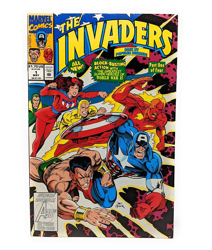 The Invaders #1 of 4 (May 1993) Marvel Comics