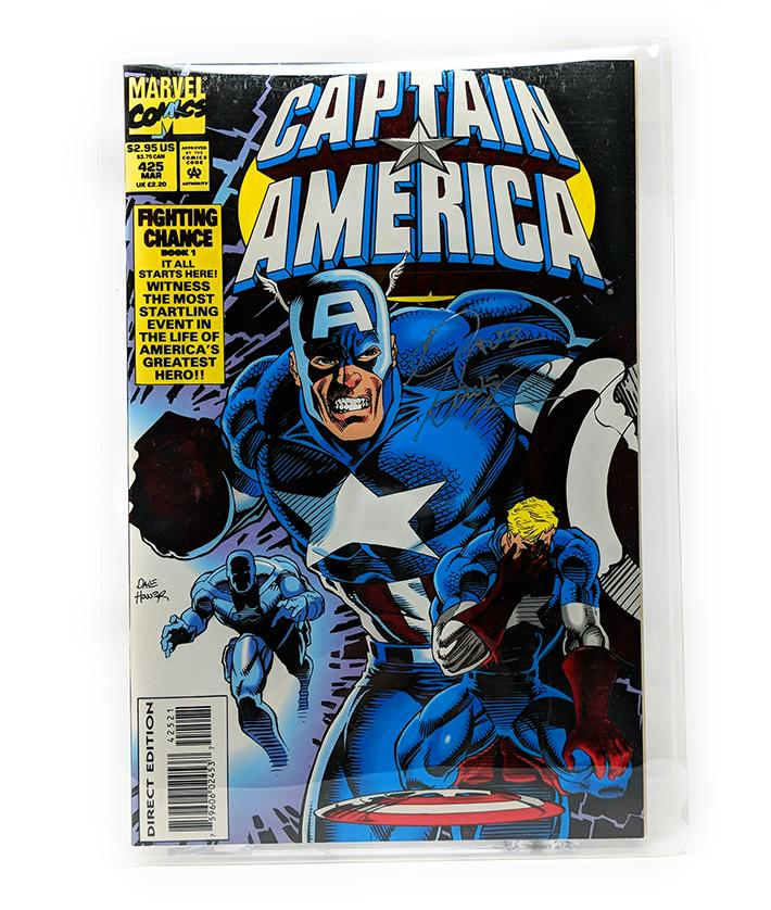 Captain America #425 (March 1994) Marvel Comics - Signed, Direct Sales Edition