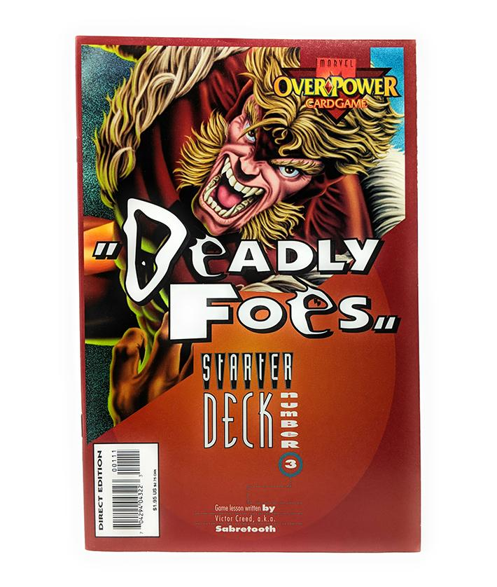 Marvel Overpower Card Game Lesson - Deadly Foes Starter Deck #3