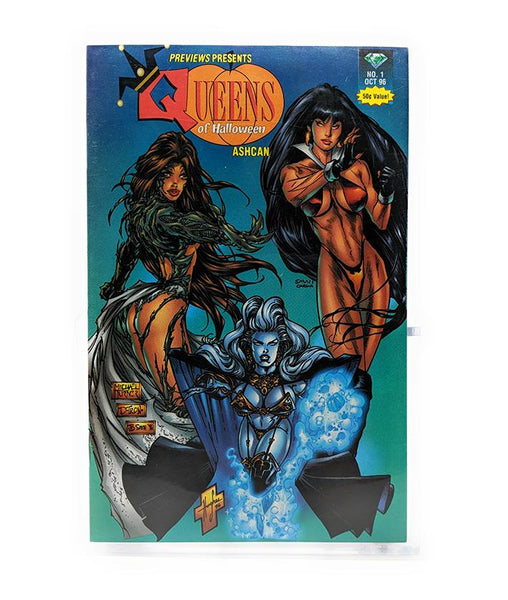 Queens of Halloween #1 (October 1996) Previews Magazine Ashcan Comic