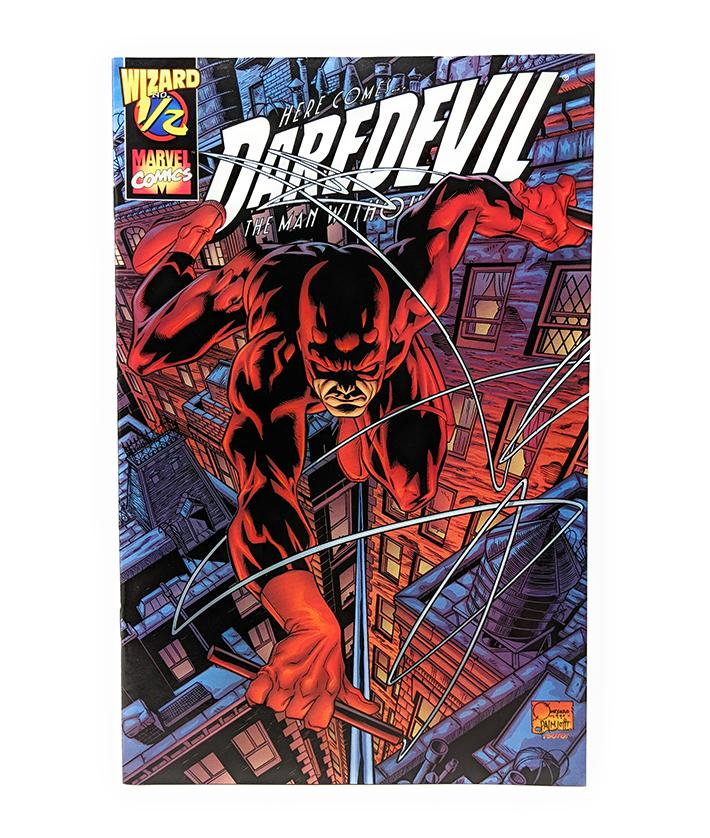 Here Comes Daredevil (1999) Marvel Comics, Wizard #1/2 Edition