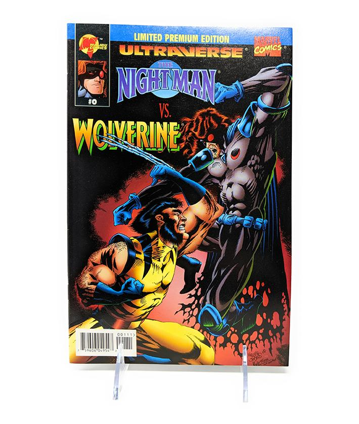 Ultraverse: Nightman vs. Wolverine #0 (1995) Malibu / Marvel Comics Limited Edition