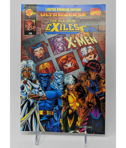Ultraverse: The All-New Exiles vs. The X-Men #0 (1995) Malibu / Marvel Comics, Limited Edition