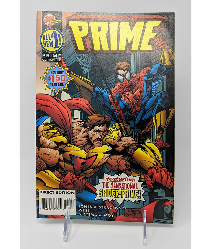Prime #1 (1995) Malibu Comics, Direct Sales Edition