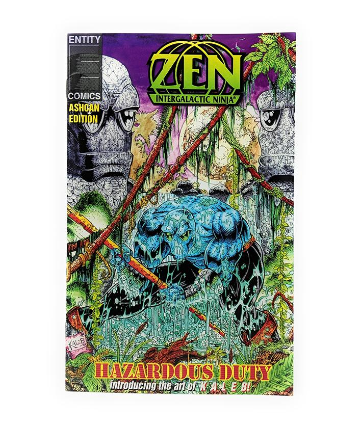 Zen Intergalactic Ninja (1994 Ashcan Edition) Entity Comics, Hazardous Duty