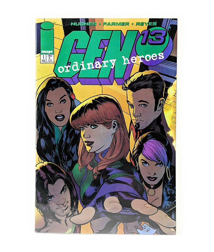 Gen 13 Ordinary Heroes #1 (February 1996) Image Comics