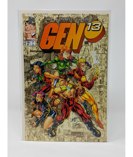 "Gen 13 #13A (August 1996) Image Comics, ""A"" Variant Cover"